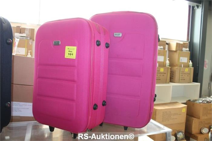 2 tlg kofferset als trolley ausgef hrt travelex objektdetail roucka schuster. Black Bedroom Furniture Sets. Home Design Ideas