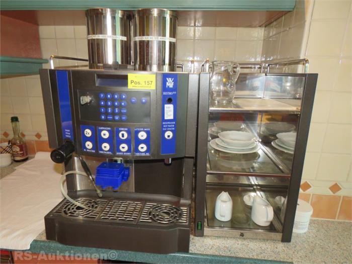 gastro kaffeemaschine wmf typ bistro objektdetail rs auktionen gmbh. Black Bedroom Furniture Sets. Home Design Ideas