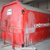 Presscontainer PÖTTINGER Typ MP18, 18 m³, L: 5780 mm, B: 2390 mm, H: 2590 mm
