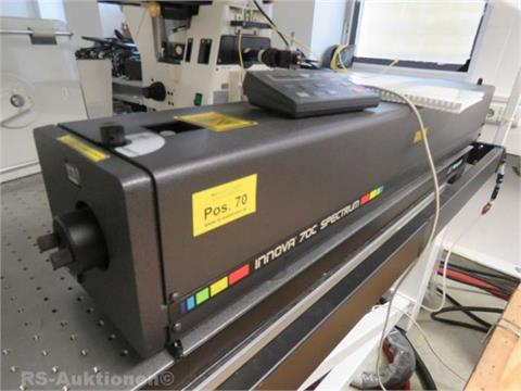 Gaslaser COHERENT Typ Innova 70c-Spectrum