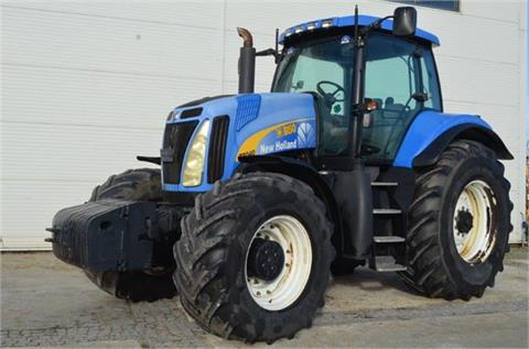 Tractor NEW HOLLAND T8040 - sn : Z8RW01389